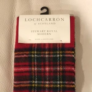Plaid Wool Winter Scarf from Scotland